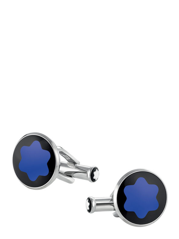 Urban Spirit blue mineral Cufflinks