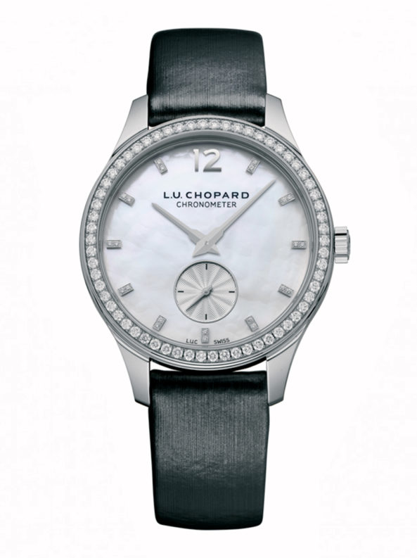 L.U.C XPS 35 mm 18-carat white gold and diamonds