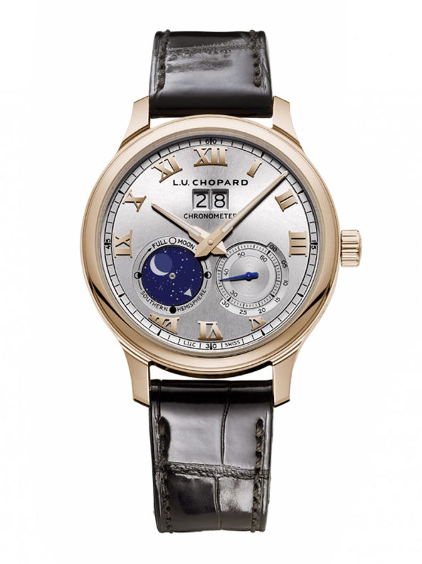 L.U.C Lunar Big Date 18-carat rose gold