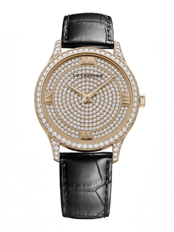 L.U.C XP 18-carat rose gold and diamonds