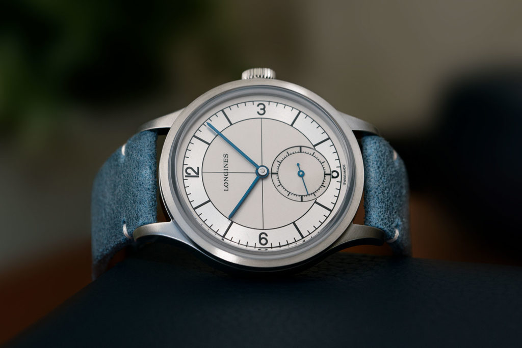 Longines Heritage Classic Sector Dial 3 Watch - Available At Polo Luxury Nigeria