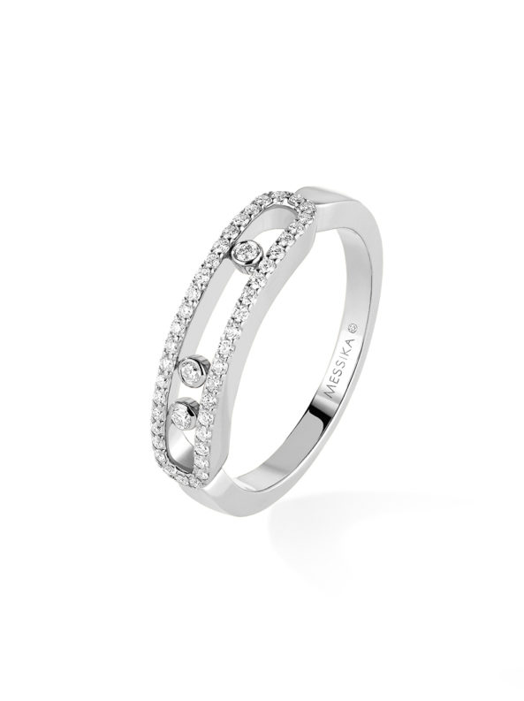 Baby Move Pave Ring
