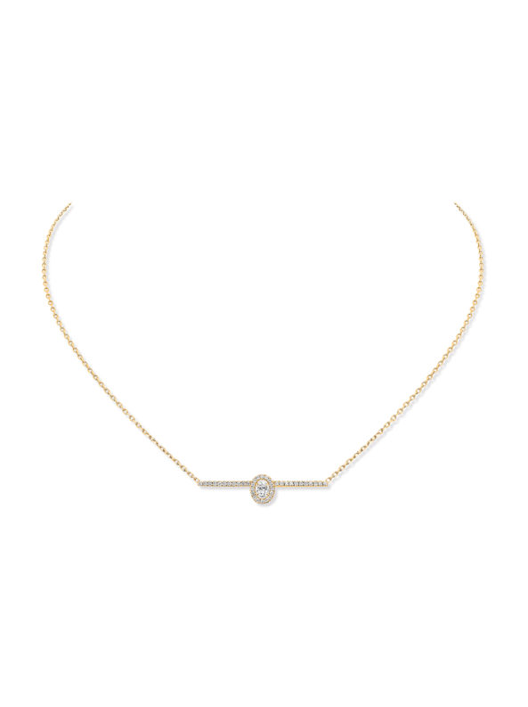 Glam' Azone Pave diamond necklace