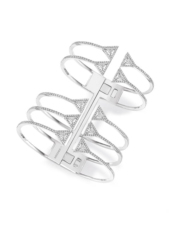 Thea 5 rows cuff bracelet - New/ heights: 60mm